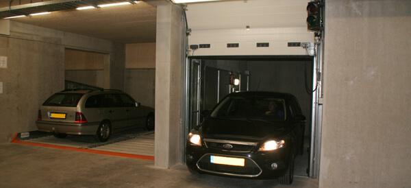 Vol- of halfautomatisch parkeersysteem?