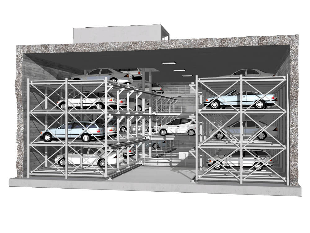 Parkeersysteem MasterVario LS - Aarding Parking Systems