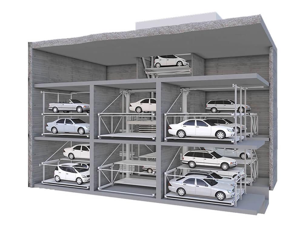 Parkeersysteem MasterVario R3C - Aarding Parking Systems