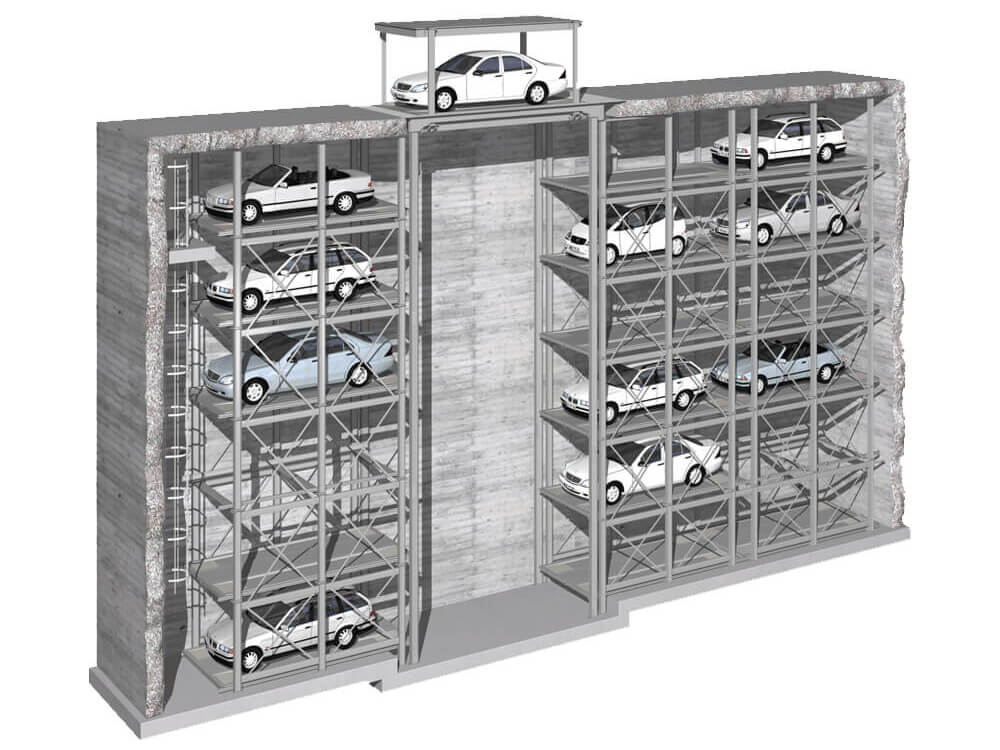 Parkeersysteem MasterVario S - Aarding Parking Systems