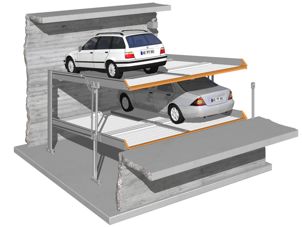 Parkeersysteem MultiBase 2042 DB 010 3D - Aarding Parking Systems
