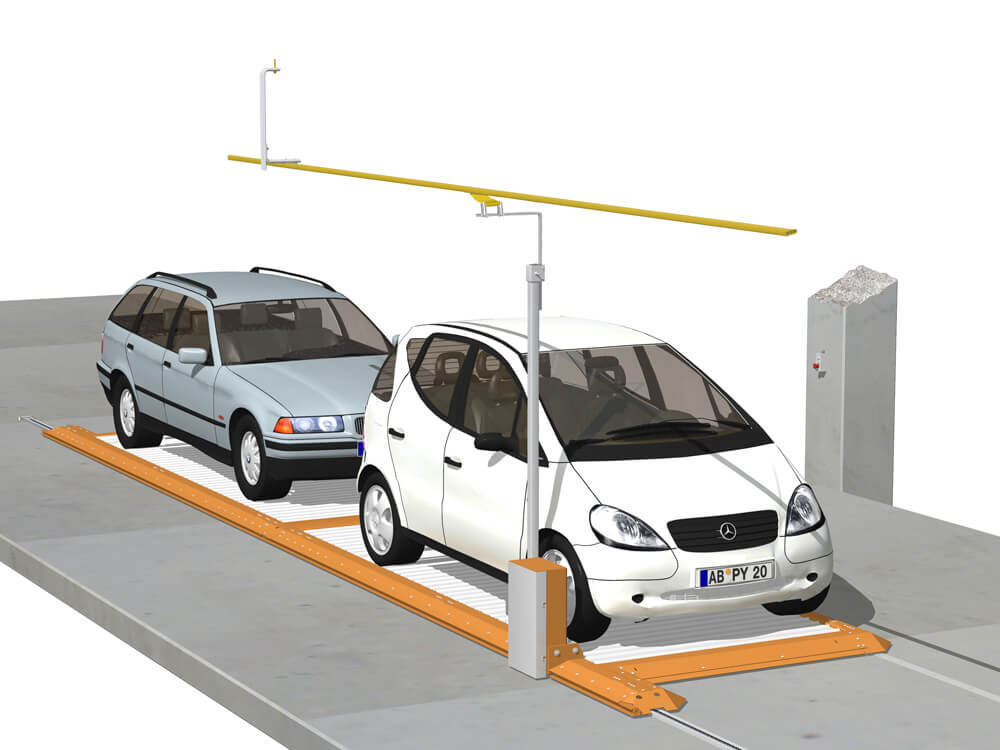 Parkeersysteem ParkBoard PQ 030 3D - Aarding Parking Systems