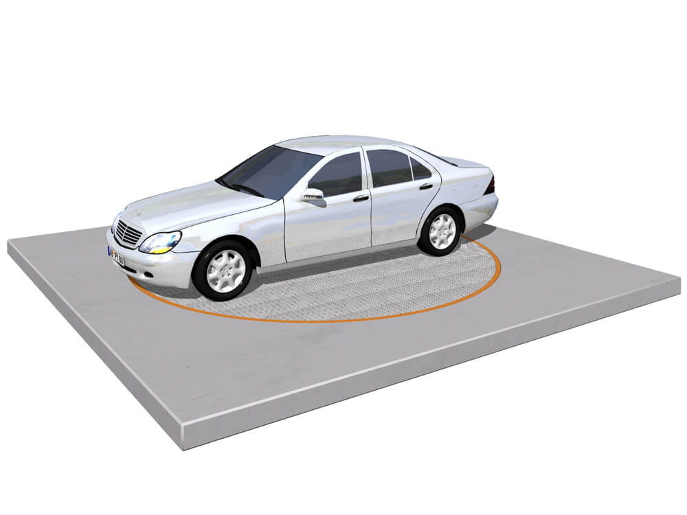 Parkeersysteem ParkDisc 010 3D - Aarding Parking Systems