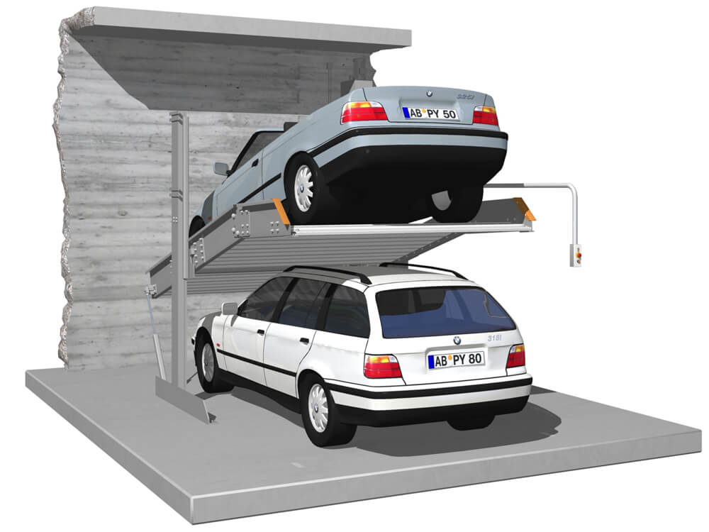 Parkeersysteem SingleUp 2015 EB 010 3D - Aarding Parking Systems