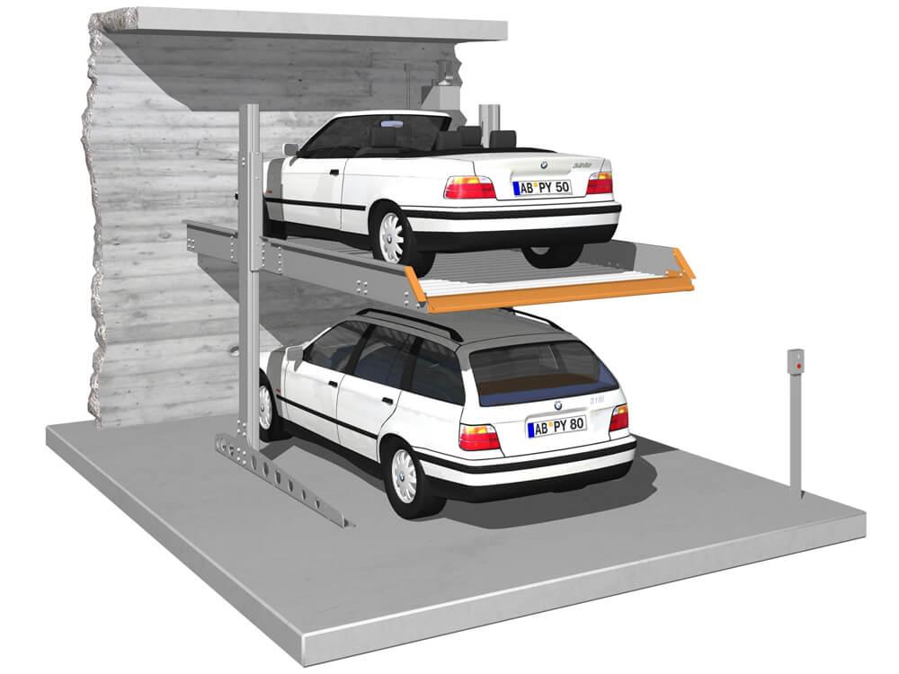 Parkeersysteem SingleVario 2061 EB 010 3D - Aarding Parking Systems