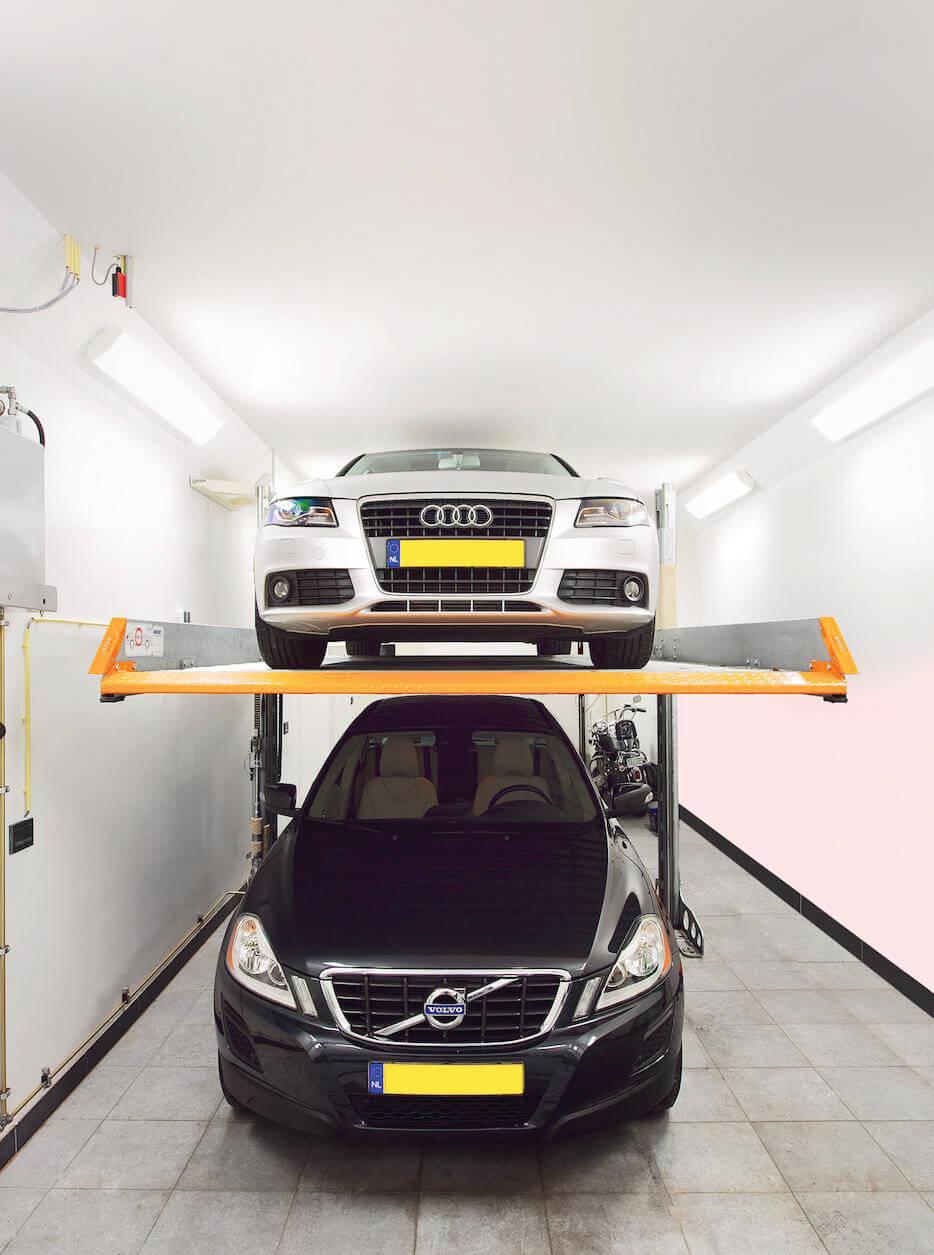 Aarding Car Lifts Autolift Zonder Bestuurder