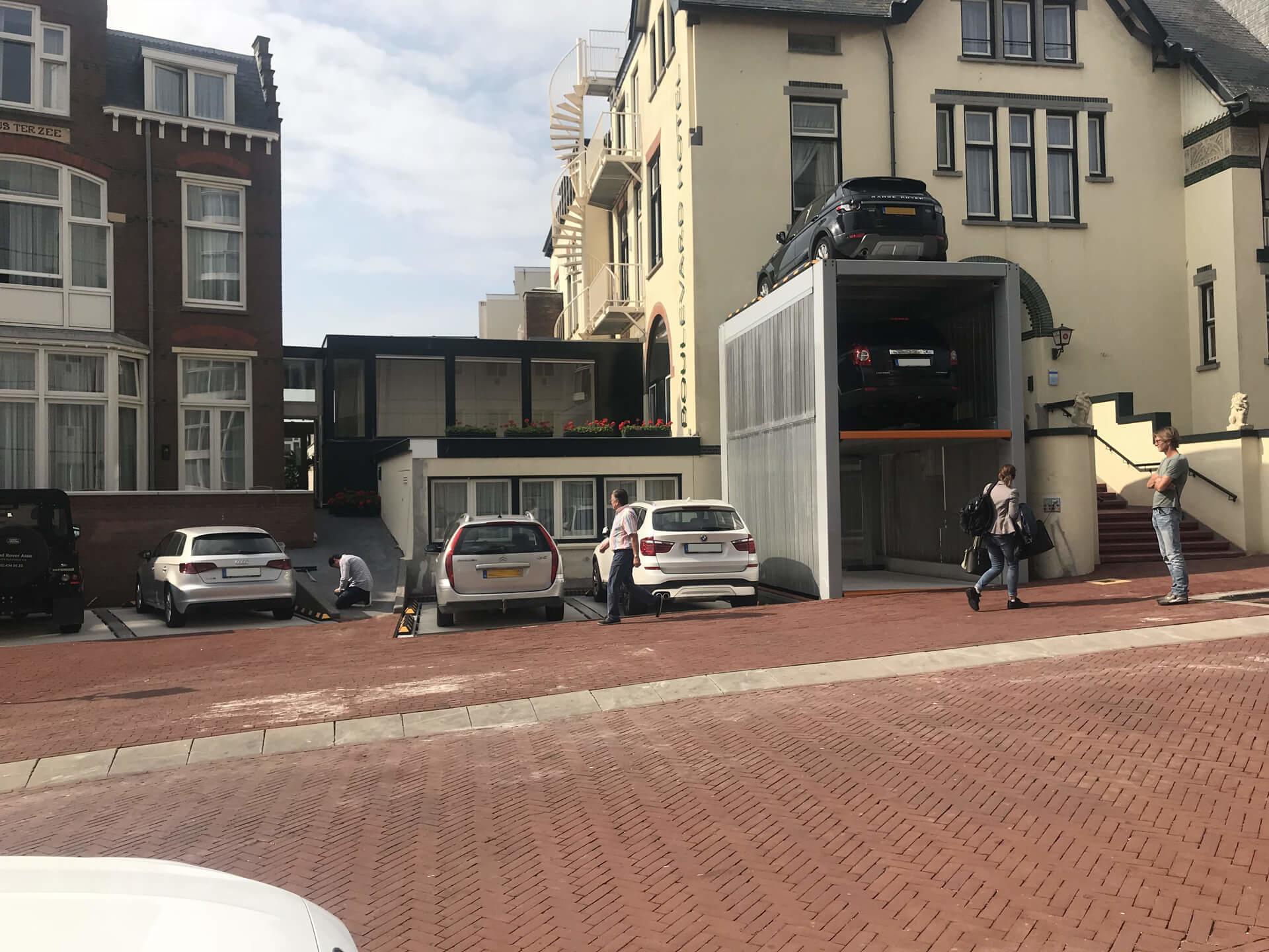 Project Parkeersysteem MultiBase U2 Scheveningen - Aarding Parking Systems 1