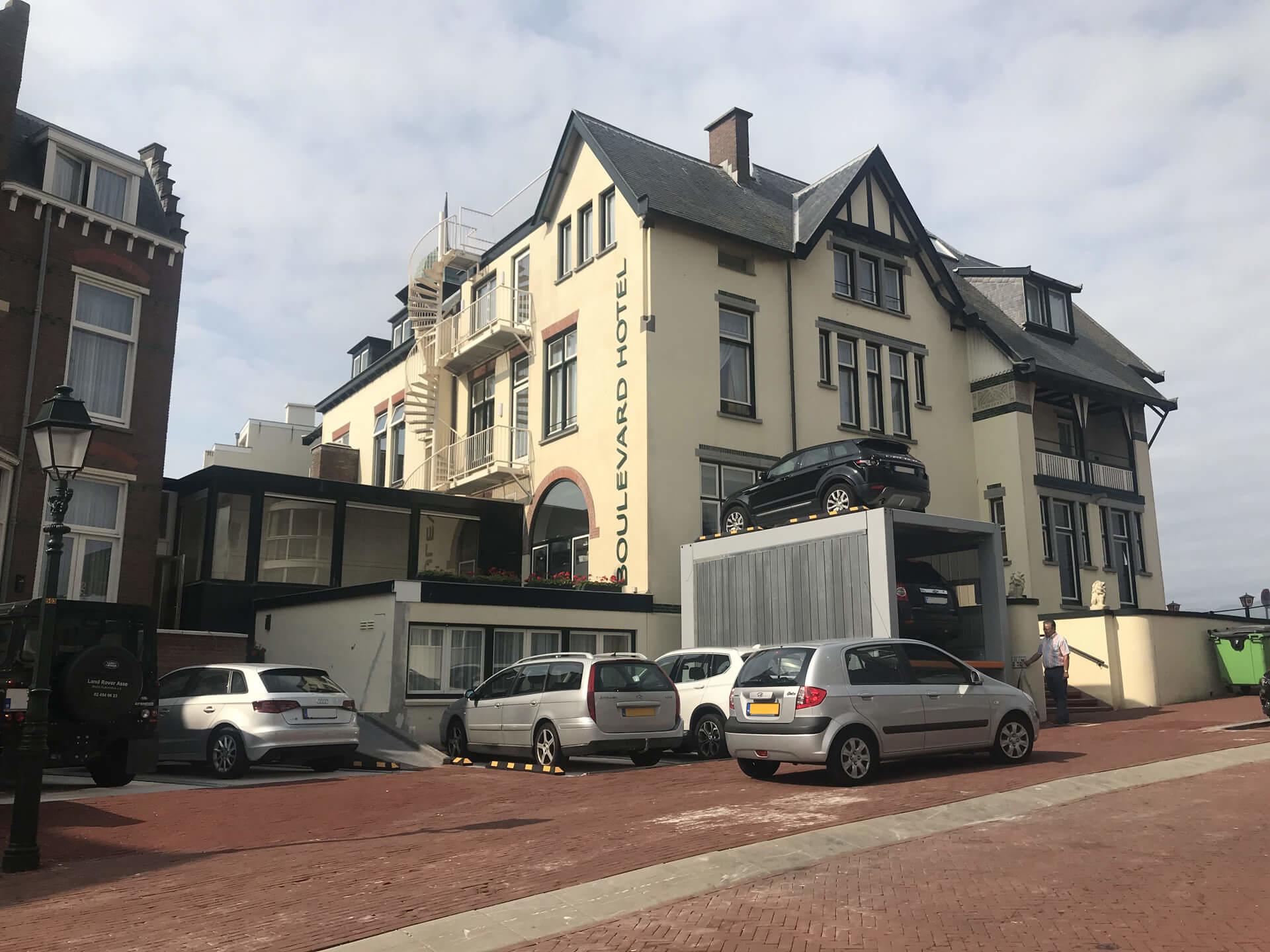 Project Parkeersysteem MultiBase U2 Scheveningen - Aarding Parking Systems 2