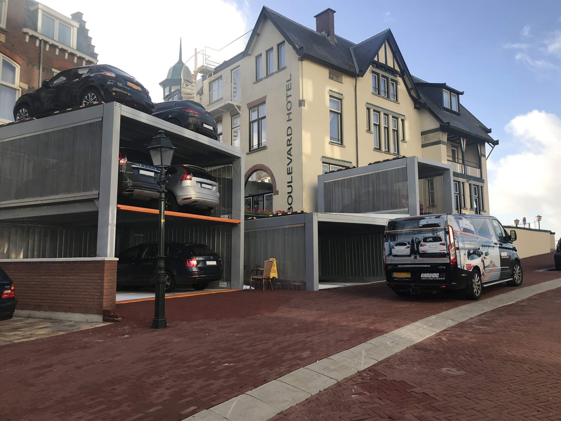 Project Parkeersysteem MultiBase U2 Scheveningen - Aarding Parking Systems 4