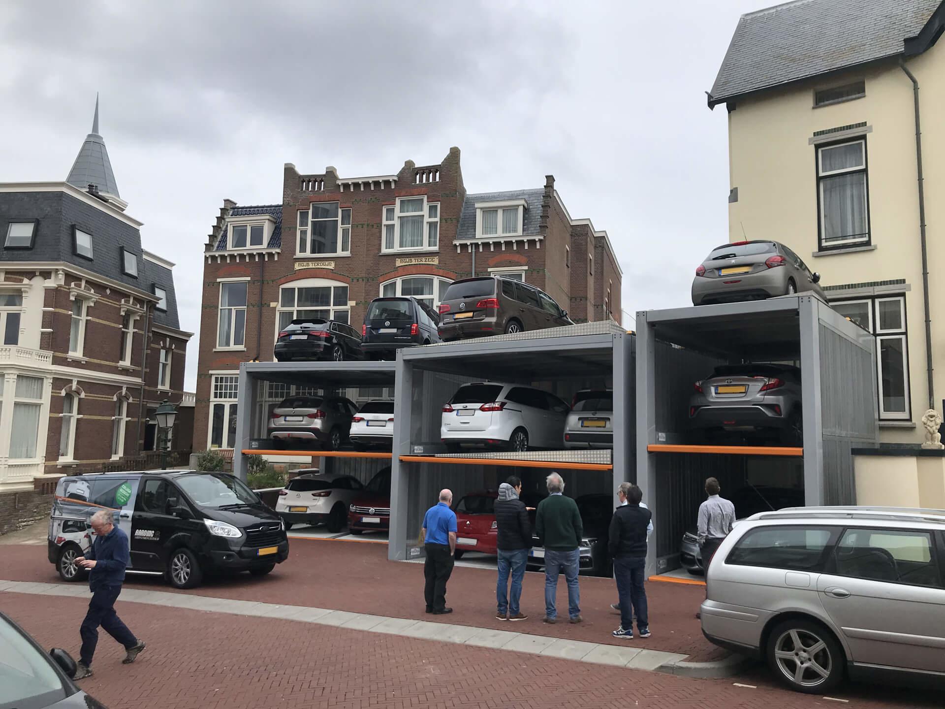 Project Parkeersysteem MultiBase U2 Scheveningen - Aarding Parking Systems 5