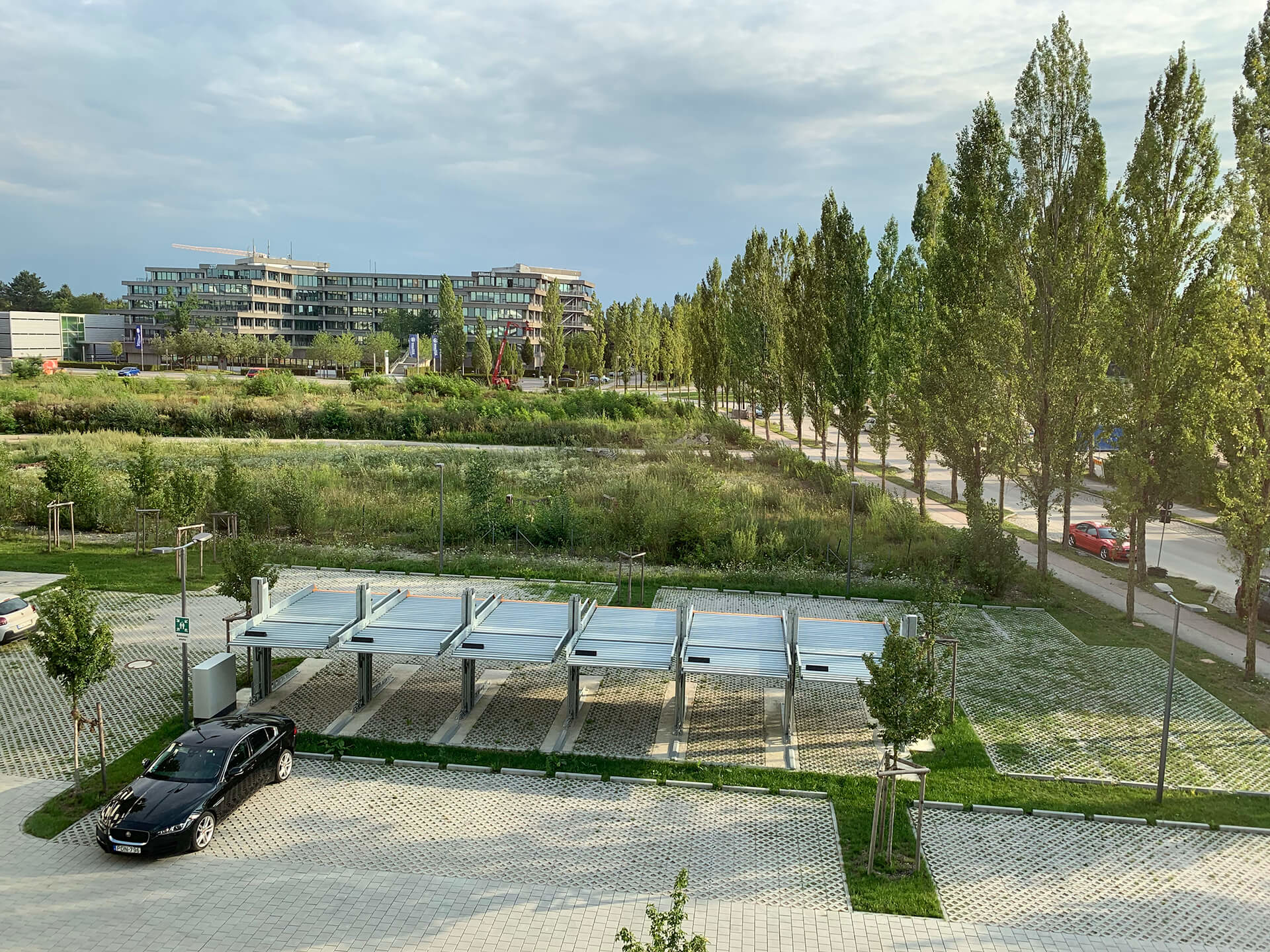 Project Parkeersysteem Single 2061 Outdoor Munchen 1 Aarding Parking Systems